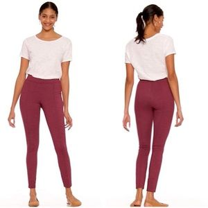 (Tall) High-Waisted Ponte-Knit Stevie Pants